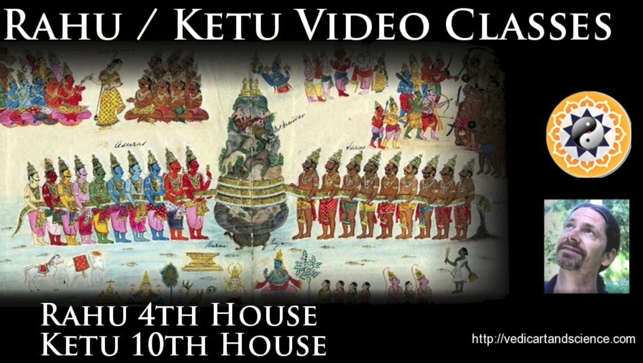 Rahu in the 4th Ketu in the 10th house - Vedic art and Science